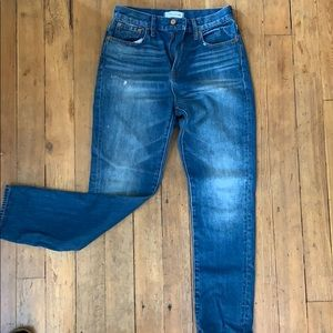 Madewell perfect vintage jeans 26